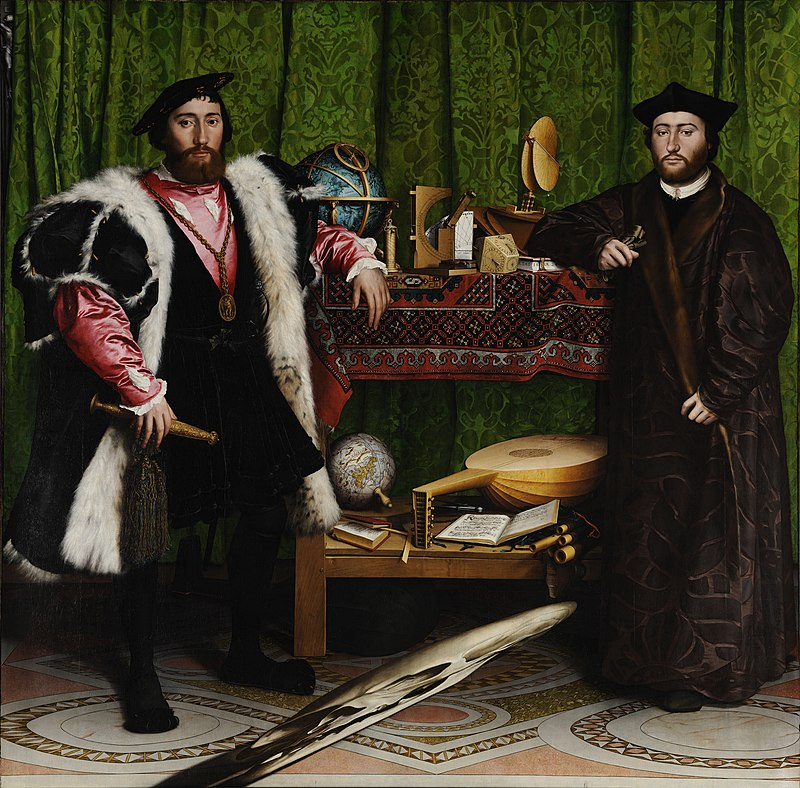 800px-Hans_Holbein_the_Younger_-_The_Ambassadors_-_Google_Art_Project